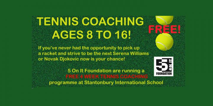 TRY JUNIOR TENNIS FOR FREE!