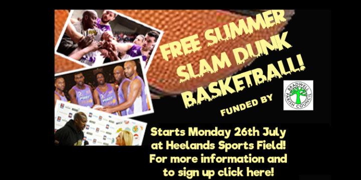 FREE SUMMER BASKETBALL AT HEELANDS!