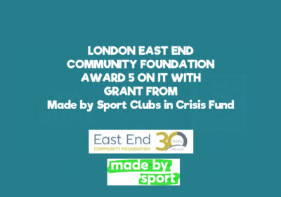 East London Community Foundation support Gang Today Gone Tomorrow